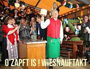 Oktoberfest 2017 O'Zapft is - Oktoberfest Anstich durch Münchens Oberbürgermeister Dieter Reiter am 16.09.2017